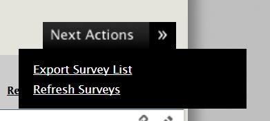 How to use External Surveys (NON Co-op Internship Module)